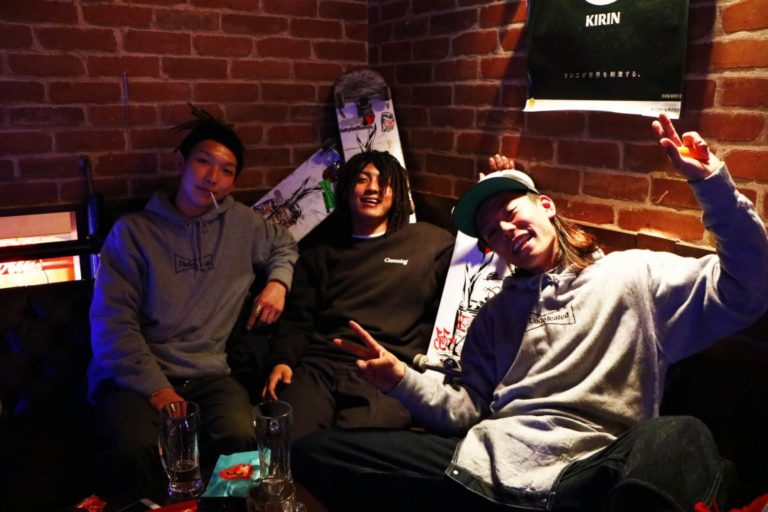 GDCのリリース後【WASTED YOUTH SKATE TEAM】にインタビューさせてもらいました!