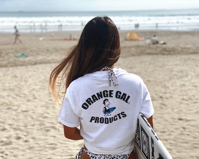 全国争奪ブランド【ORANGE GAL】が復刻!注目の【Surfrider Foundation】とコラボ!環境未来を担いつつ、懐かしき80年代をもう一度!