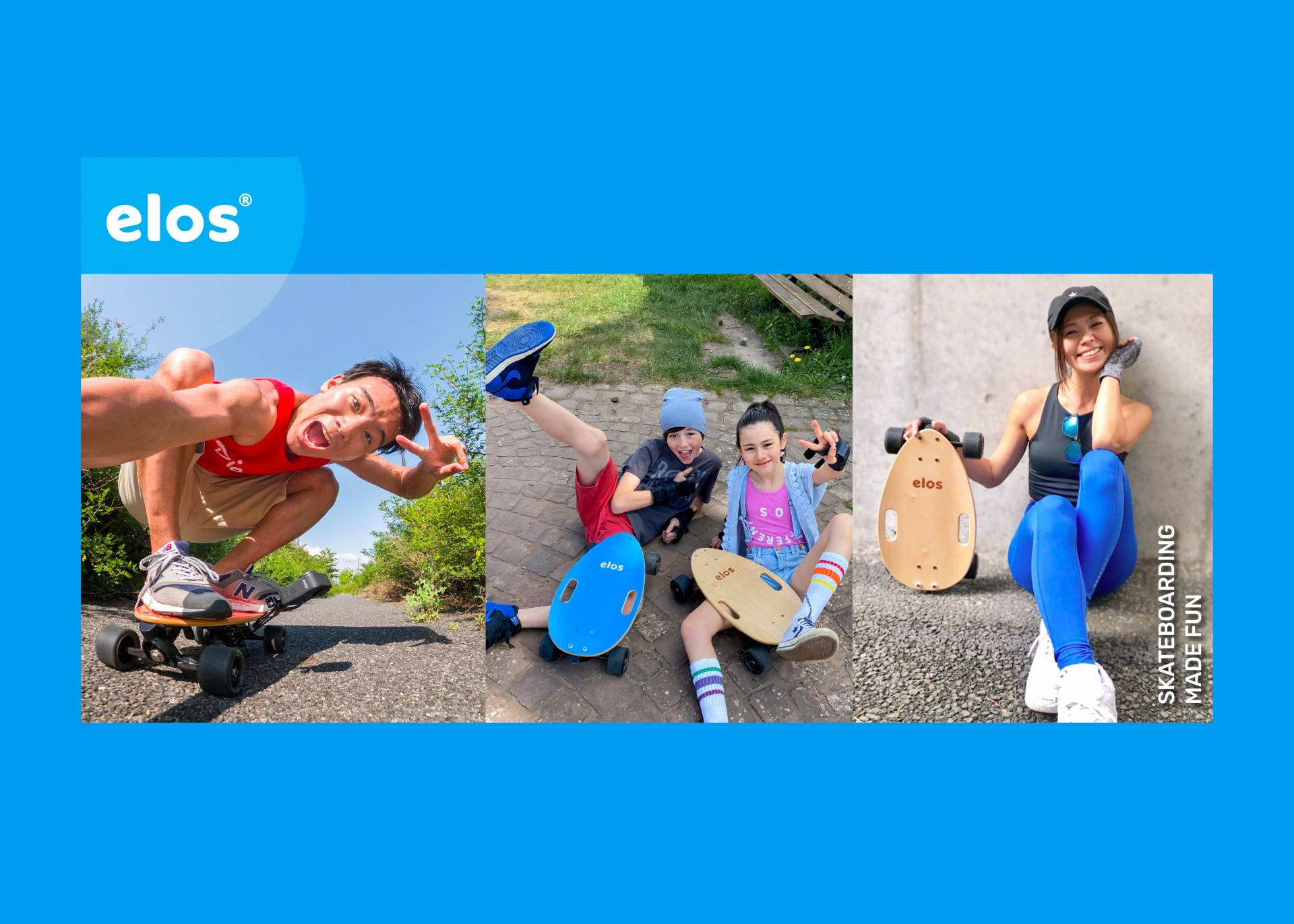 待望の日本上陸【Elos】エロスじゃないよ!イロスだよ!!世界一コンパクトなスケートボードは安定感が最強!?スケーター初心者必見アイテム!