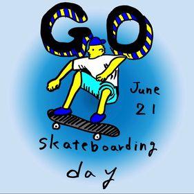 6/21 GO SKATEBOARDING DAY!!SPOPAR無料開放♪